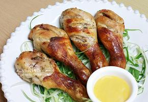 오븐닭다리갈릭버터구이, 노릇노릇 바~삭한 닭다리 하나 뜯어볼까요?