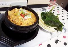#올리브쇼 김호윤셰프의 깡장두부만들기 #호박잎와 양배추쑥쌈에 싸서 먹는 깡장의 맛~~ 두부와 무가 한수!!!!