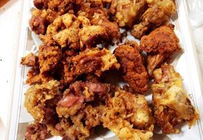 #닭날개튀김 #닭똥집튀김만들기 #마법의치킨가루를 이용해서 만드는 치킨!!! 닭날개와 닭똥집튀김!