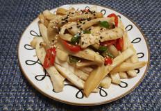 쫄깃쫄깃 맛있는 초 간단 새송이버섯 볶음