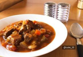[영국주방]슬로우 쿠커로 천천히 만들어 보는 토마토 비프스튜(Tomato Beef Stew)