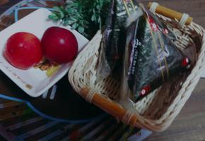 강황(울금 )오이지 삼각김밥