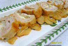 닭가슴살 치즈말이 튀김~~ 부드럽고 꼬소하고 치즈 쭉쭉~~