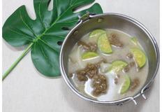 도토리 들깨수제비, 국물요리, 도토리묵 가루 요리, 들깨수제비 만들기