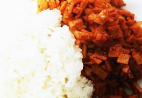한그릇요리 간단하게 어묵덮밥
