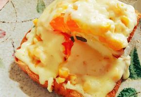 마약 옥수수 계란 토스트