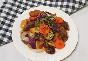 쫄깃 담백 표고버섯탕수 만들기(편식하는 아이들도 잘먹어요~!!)