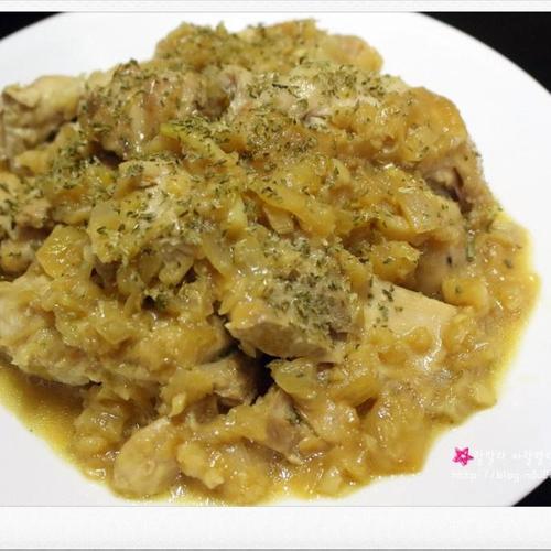 (집에서 즐기는 술안주) 닭스테이크 / 닭다리스테이크 - 닭정육 요리