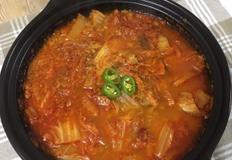 참치 김치찌개 끓이기