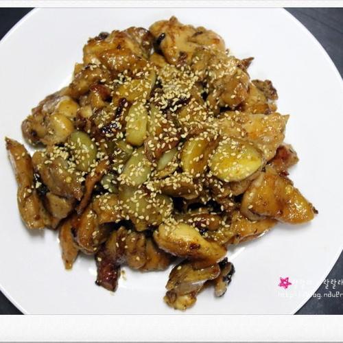 (술안주 만들기) 치킨 데리야끼 - 닭고기 요리
