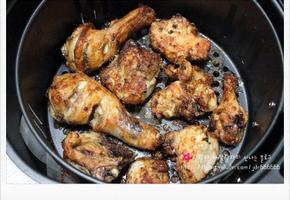 (에어프라이어요리) 에어프라이어 치킨 - 집에서 술안주 만들기