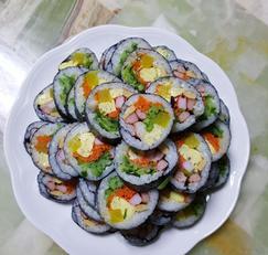 오이 김밥 만들기
