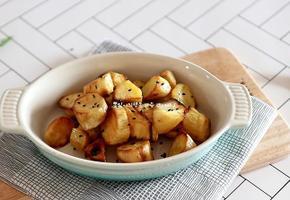 에어프라이어 요리 고구마맛탕 만들기