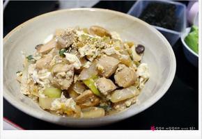 오야코동 / 닭고기덮밥 - 닭가슴살 요리