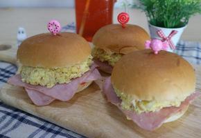 모닝빵 샌드위치, 계란샌드위치 만들기