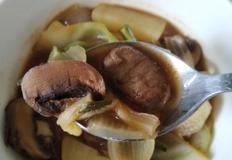 라면포트로 국끓이기1- 된장찌개