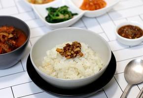 전기밥솥으로 무밥 만들기 자취생도 쉽게 따라 할 수 있는 초간단 한그릇요리