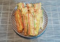 김밥재료로 산적꼬지 만들기