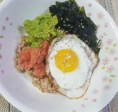 아보카도명란비빔밥 만들기!! 임당식단으로도 좋아요!!