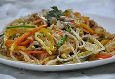♬ 스트레스 해소에 도움이 되는 매운맛 쌀국수 볶음
