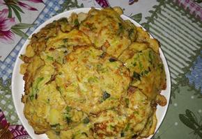 깻잎 계란야채부침