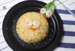 칵테일 새우 볶음밥. 한그릇요리. 간단한 저녁메뉴(w.프리미어)