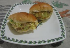 모닝빵 달걀 샌드위치