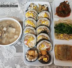 명절음식 활용, 통큰 김밥