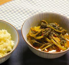 열무김치의 대변신 : 열무김치 조림 / boiled Yulmu Kimchi (저염식)
