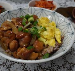 치킨데리야끼덮밥 만들기
