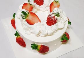 비주얼 폭발 딸기 생크림 케이크 만들기
