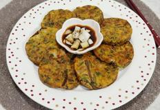 콩비지로 만든 빈대떡(밑반찬, 간식, 안주 모두 굿!)