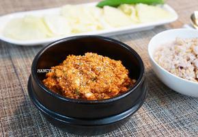 저염식 건강 쌈장과 양배추 쌈밥, 맛있는 쌈장 쌈밥