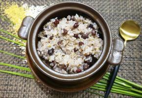 [김미푸드]오곡밥 만드는 법! 전자렌지로 쉽게해요.