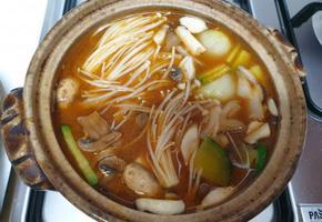 된장찌개 푸짐하게 든든집밥~^^