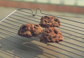 에어프라이어로 오독오독 바삭한 초코칩쿠키 만들기