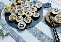김밥 맛있게 싸는법 누드 김밥 만드는 법