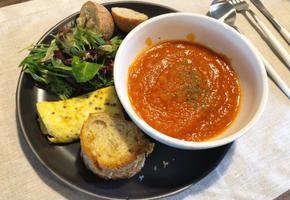 4가지 재료로 만드는 초간단 토마토 수프