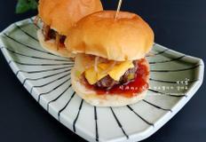 미니 햄버거 - 집에서 햄버거 만들기