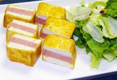 두부 스팸구이 / Pan fried Tofu & spam