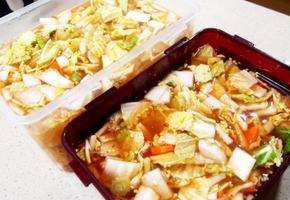 #물김치 #나박김치만들기 #겨울에 먹는 나박김치의 맛!!! #속이 뻥뚫리는 소화제같은 나박김치!!!