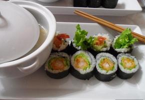 새우튀김 양상추 김밥.-너무 간단하지만 맛은 일품