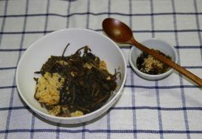 전기압력밥솥으로 별미밥 곤드레나물밥짓기