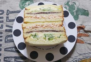 인기가요 샌드위치 만들기