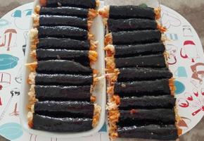 단무지무침 꼬마김밥~~