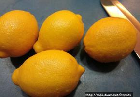 레몬 올리고당청 & 레몬 소금절임 ...피로회복엔 최고!