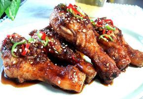 수원 왕갈비 통닭 레시피, 에어프라이어로 닭다리 굽기