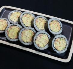 와~ 진짜 굵다 동글 동글 ~ 왕 통 계란김밥~*