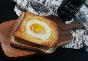 간단 달걀 토스트~*