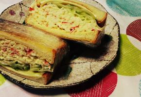 토스트 샌드위치 간단하지만 맛은 엄지척